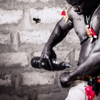 Senegalese wrestler