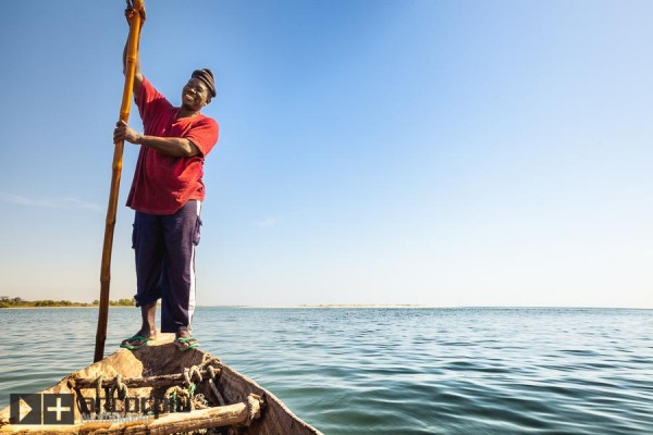Fisherman in Joal-Fadiouth