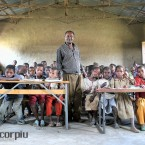 An Ethiopian school in the South.