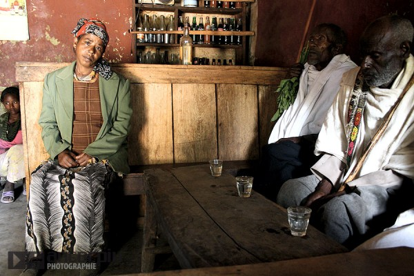 The Tadelech's bar in Ethiopia.
