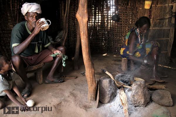 Una familia borana, Etiopia