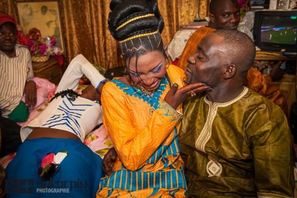 Ibou y Nene en Dakar.