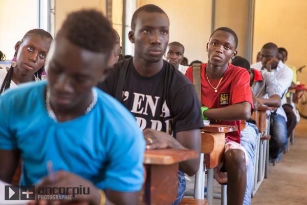 Escuela en Casamance.